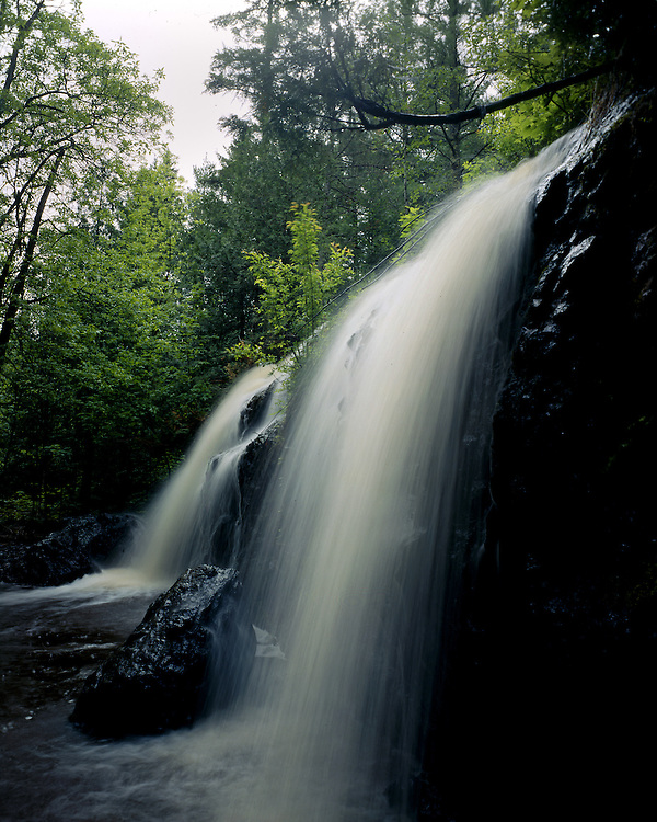 Unnamed Falls, Douglas County, Wisconsin, June, 1987