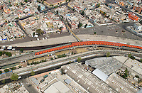 Aerial shots of Mexico City