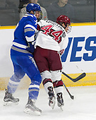 Matt Koch (AFA - 7), Michael Floodstrand (Harvard - 44) - The Harvard University Crimson defeated the Air Force Academy Falcons 3-2 in the NCAA East Regional final on Saturday, March 25, 2017, at the Dunkin' Donuts Center in Providence, Rhode Island.