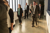 Division of Adult Correction & Juvenile Justice Commissioner David Guice, far right, (CQ) at Central Prison in Raleigh, NC on Thursday, November 17, 2016. (Justin Cook)