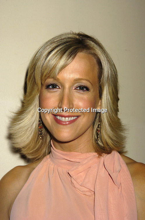 Lara Spencer..at The City of Hope Luncheon honoring Kelly Ripa on ..May 10, 2005 at The Waldorf Astoria Hotel. ..Photo by Robin Platzer, Twin Images