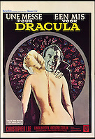 BNPS.co.uk (01202 558833)<br /> Pic: Cottees/BNPS<br /> <br /> Une Messe Pour/ Een Mis Voor Dracula (Taste the Blood of Dracula) 1970 Belgian film poster.<br /> <br /> A horror fan has sold his chilling collection of cult movie posters - for a shocking &pound;25,000.<br /> <br /> The unnamed film buff collected over 100 posters that advertised scary movies like Dracula, Frankenstein, The Wicker Man and the Hammer Horror franchise.<br /> <br /> He has now sold them at Cottees Auctions of Wareham, Dorset, with one rare Dracula poster fetching over &pound;5,000 alone.
