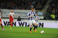 VOETBAL: HEERENVEEN: Abe Lenstra stadion 30-08-2014, SC Heerenveen - FC Utrecht uitslag 3-1, Sam Larsson, ©foto Martin de Jong