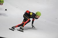 SHORTTRACK: DORDRECHT: Sportboulevard Dordrecht, 23-01-2015, ISU EK Shorttrack, Mathias VOSTÉ (BEL | #1), ©foto Martin de Jong