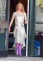Renee Zellweger On Leatherheads Movie Set.<br /> By Jonathan Green
