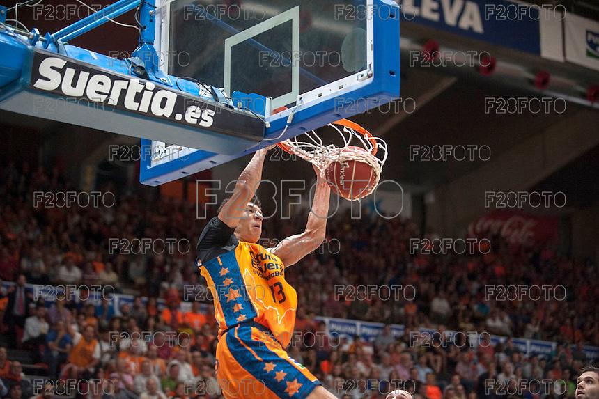 Valencia Basket 84 - 90 Real Madrid, Semifinal (11-6-2015)