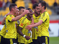 170117 A-League Football - Wellington Phoenix v Melbourne Victory