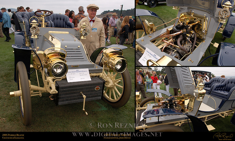 1903 Pierce Arrow 15hp, Pebble Beach Concours d'Elegance