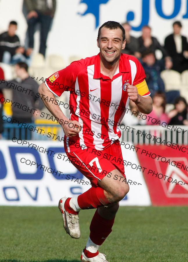 Fudbal, Jelen super liga, season 2008/09.OFK Beograd Vs. Crvena Zvezda.Nenad Milijas.Beograd, 14.03.2009..Photo: © Srdjan Stevanovic/Starsportphoto.com