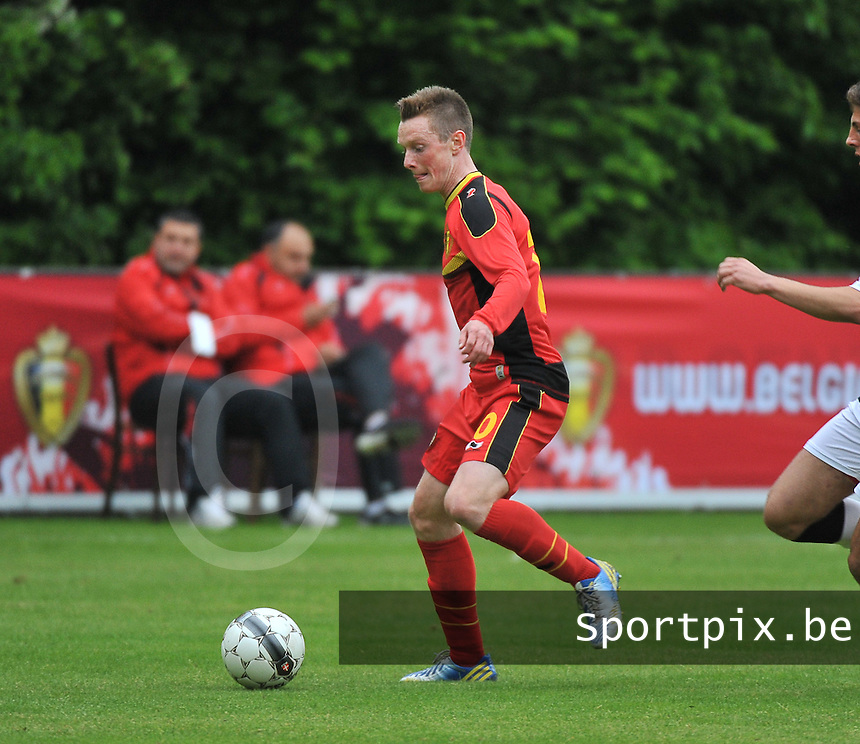 Georgia U19 - Belgium U19 : Rob Schoofs<br /> foto DAVID CATRY / Nikonpro.be
