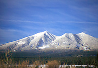 GEOLOGY<br /> San Francisco Peaks w/Snow<br /> Flagstaff, AZ