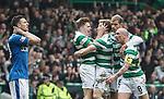 Stuart Armstrong celebrates his goal