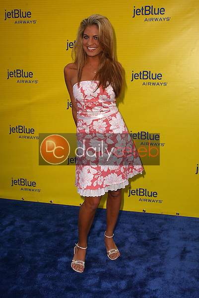 Bridgetta Tomarchio<br /> at the launch of Jet Blue out of Burbank and 25th anniversary screening of &quot;Airplane&quot; at Warner Bros. Studios, Burbank, CA 06-13-05<br /> David Edwards/DailyCeleb.Com 818-249-4998
