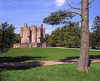 Braemar Castle, Royal Deeside, Grampian,