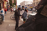 """Officer Galliger out of Park Station is the most feared Cop on the Haight Street beat.  """"Garland"""" caught by Galliger is arrested for having outstanding warrents and spent two days in the jail In San Francisco, California."""