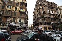 Daily life in Cairo, the biggest city in Africa, with something between 18 and 22 mill. inhabitants.