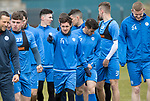 St Johnstone Training&hellip;14.04.17<br />Danny SWanson pictured during training at McDiarmid Park this morning ahead of tomorrow&rsquo;s game against Aberdeen.<br />Picture by Graeme Hart.<br />Copyright Perthshire Picture Agency<br />Tel: 01738 623350  Mobile: 07990 594431
