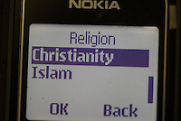 The localisation features of Nokia phones include religion preferences.