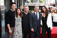 17 April 2017 - Hollywood, California - Daniel Henney, Gary Sinise, Alana de la Garza. Gary Sinise Honored With Star On The Hollywood Walk Of Fame.<br /> CAP/ADM<br /> &copy;ADM/Capital Pictures