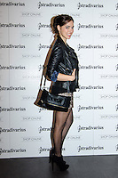 "Cristina brondo at Stradivarius store for the collection ""Fiesta'12 party  in Madrid"