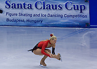 Bianka Padar performs during the women's figure skating national championships held in Budapest's Practice Ice Center. Budapest, Hungary. Sunday, 09. January 2011. ATTILA VOLGYI