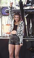 NEW YORK, NY - JULY 1: Rachel Platten performs on NBC's 'Today' at Rockefeller Plaza on July 1, 2016 in New York City. Credit: John Palmer / MediaPunch