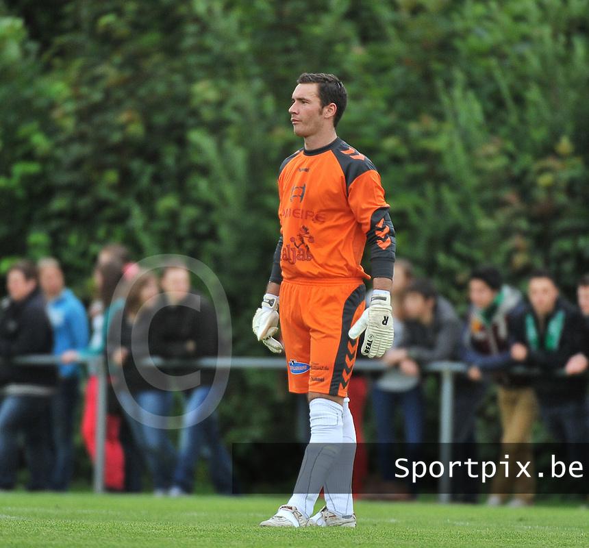 SVV Damme - Cercle Brugge : Kenneth Dhondt<br /> foto VDB / Bart Vandenbroucke