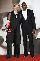 LONDON, UK. November 21, 2016:  Costume designer Joanna Johnston &amp; guest at the &quot;Allied&quot; UK premiere at the Odeon Leicester Square, London.<br /> Picture: Steve Vas/Featureflash/SilverHub 0208 004 5359/ 07711 972644 Editors@silverhubmedia.com