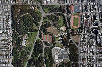 aerial photograph Golden Gate Park San Francisco