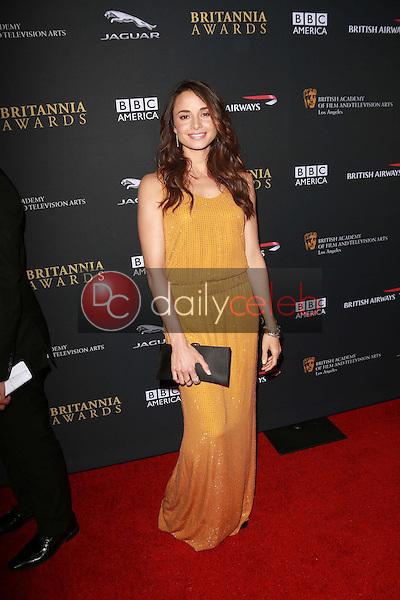 Mia Maestro<br /> at the 2013 BAFTA LA Jaguar Britannia Awards, Beverly Hilton Hotel, Beverly Hills, CA 11-09-13<br /> Dave Edwards/DailyCeleb.com 818-249-4998