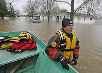 Tipton, Indiana Flooding 4-19-13