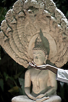 """Para-monastic institutions in Thailand, like the Sathira Dhammasathan meditation centre, not allow the lay nuns (""""mae chees"""") to held a temple, but not deny them to practice the spiritual life. Increasingly """"mae chii"""" can be found in these independent ?nunneries? or """"samnak chii"""" where they undertake domestic duties, grow crops, practice meditation, undertake studies in the dharma and, increasingly, provide teaching in the dharma and meditation to lay Buddhists."""
