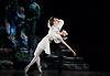 Sylvia<br /> Birmingham Royal Ballet <br /> choreography by David Bentley <br /> at the Birmingham Hippodrome, Birmingham, Great Britain<br /> rehearsal <br /> 23rd June 2015 <br /> <br /> Momoko Hirata as Sylvia<br /> <br /> Joseph Caley as Amynta<br /> <br /> <br /> <br /> Photograph by Elliott Franks <br /> Image licensed to Elliott Franks Photography Services