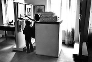 Paris, August 1977. Musee D'Art Juif De La Rue Des Saules. Vie Quotidienne des Juifs a Paris.