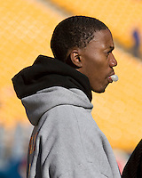 03 November 2007: Pitt recruit Jonathan Baldwin..The Pitt Panthers defeated the Syracuse Orange  20-17 on November 03, 2007 at Heinz Field, Pittsburgh, Pennsylvania.