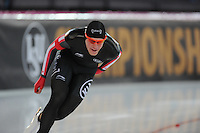 SPEED SKATING: HAMAR: Vikingskipet, 04-03-2017, ISU World Championship Allround, 5000m Men, Benjamin Donnelly (CAN), ©photo Martin de Jong