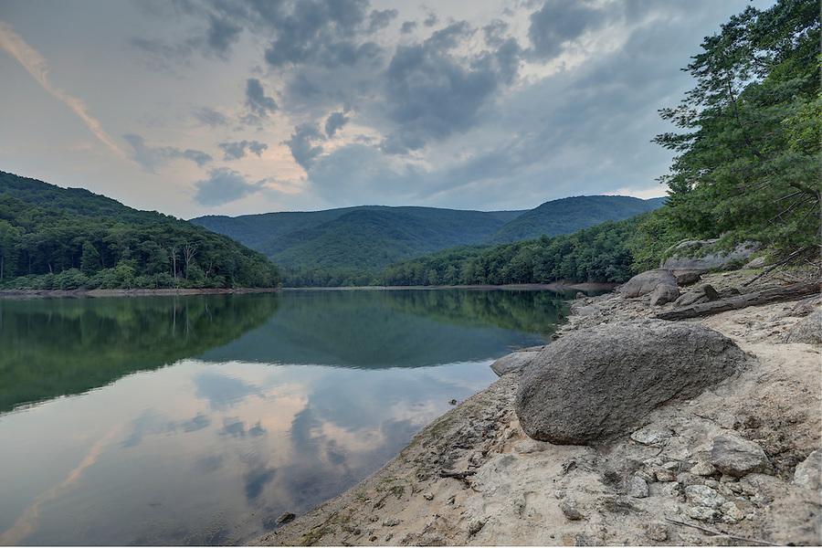 The Sugar Hallow reservoir located in Crozet, VA. Photo/Andrew Shurtleff