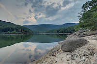 The Sugar Hallow reservoir located in Crozet, VA. Photo/Andrew Shurtleff