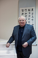 Moscow, Russia, 15/02/2012..Mikhail Gorbachev, last President of the Soviet Union, in the building of the Gorbachev Foundation.