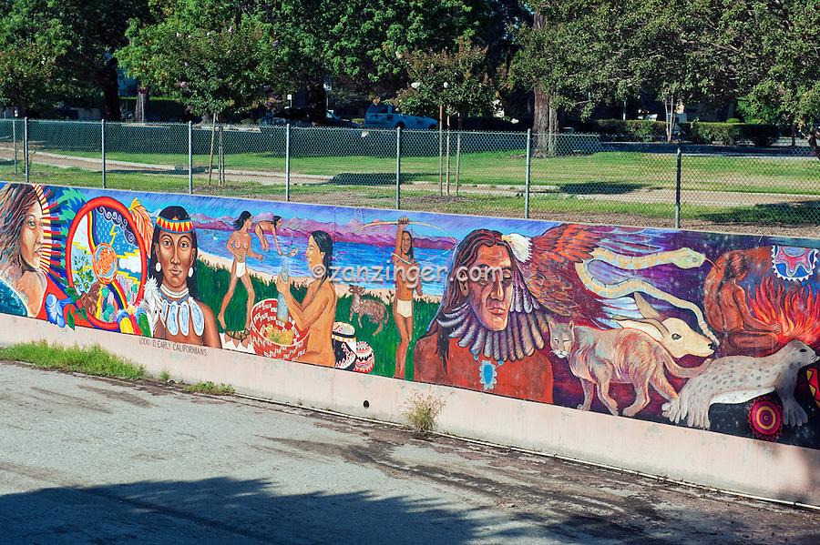 Great wall mural los angeles ca tujunga wash san for California mural