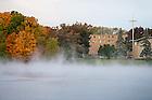 October 25, 2016; Mist on St. Joseph Lake (Photo by Matt Cashore/University of Notre Dame)