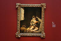 """The Young Beggar"" by Bertolomé Esteban Murillo in the Anne Cox Chambers Wing of the High Museum of Art. Over the next three years, the High Museum will feature hundreds of works of art from the Musée de Louvre."