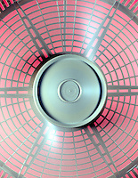 FAN BLADES<br /> (2 of 2)<br /> In motion<br /> Individual blades are not distinguishable.
