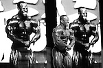 David Henry on stage at the finals for the 2009 Olympia 202 competition in Las Vegas.