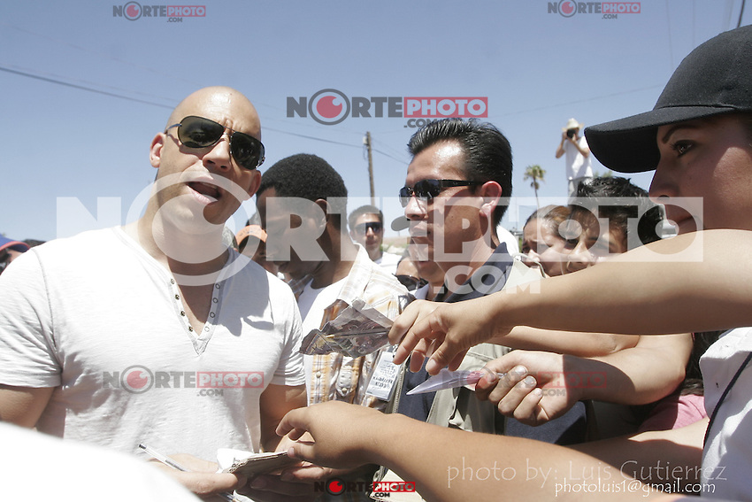 Vin Diesel and Paul Walker died during recordings in Mexico 2008<br />