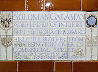 Postman's Park, City of London