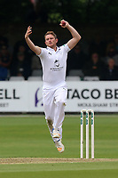Liam Dawson in bowling action for Hampshire during Essex CCC vs Hampshire CCC, Specsavers County Championship Division 1 Cricket at The Cloudfm County Ground on 19th May 2017