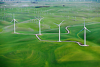 Wind Turbine Aerial Photography