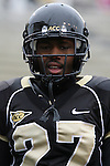 07 October 2006: Wake Forest's Josh Adams. The Clemson University Tigers defeated the Wake Forest University Demon Deacons 27-17 at Groves Stadium in Winston-Salem, North Carolina in an Atlantic Coast Conference NCAA Division I College Football game.