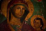 The 10th century Byzantine chapel of Agios Stefanos, Drakona, Crete, Greece